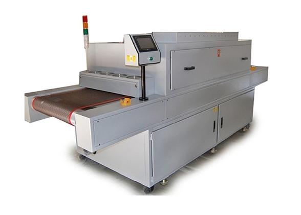 烘干生产线厂家生产的UV固化清洗机