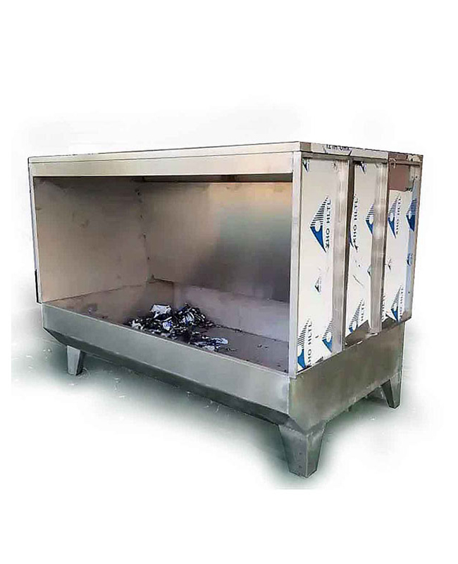 双工位不锈钢水帘柜